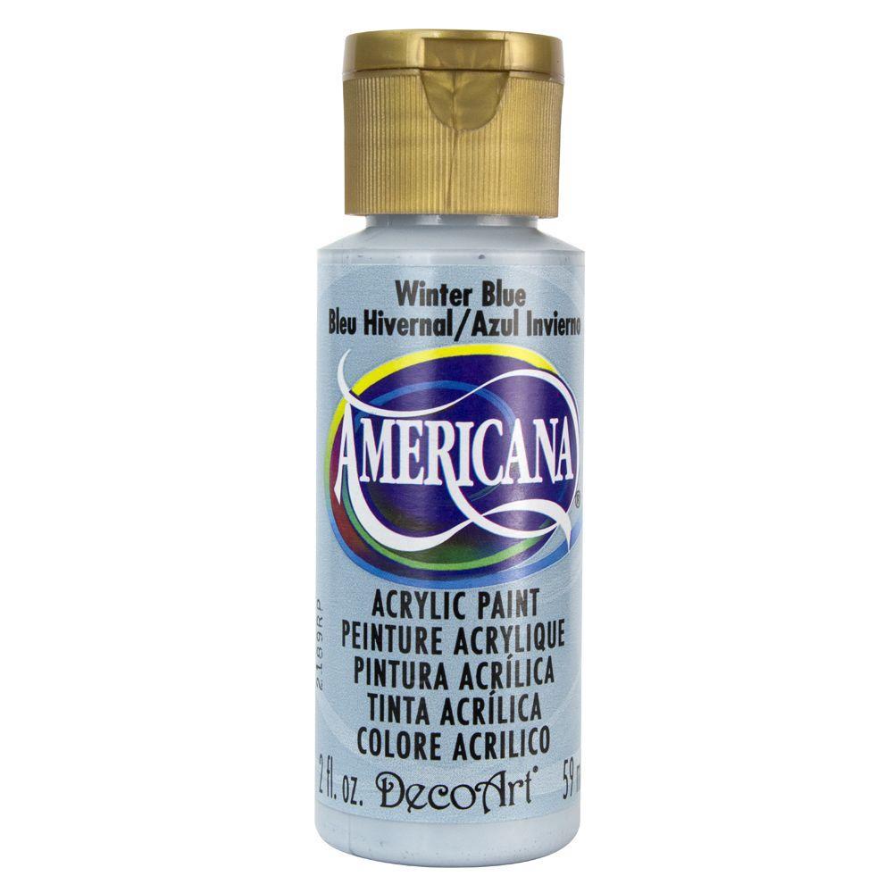 Americana 2 oz. Winter Blue Acrylic Paint