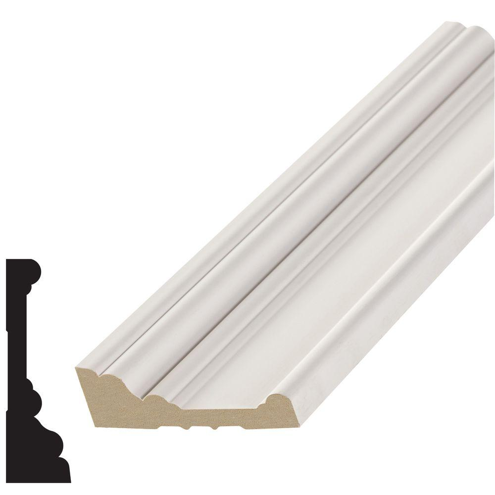 1 in. x 3-7/16 in. x 96 in. Primed MDF Casing