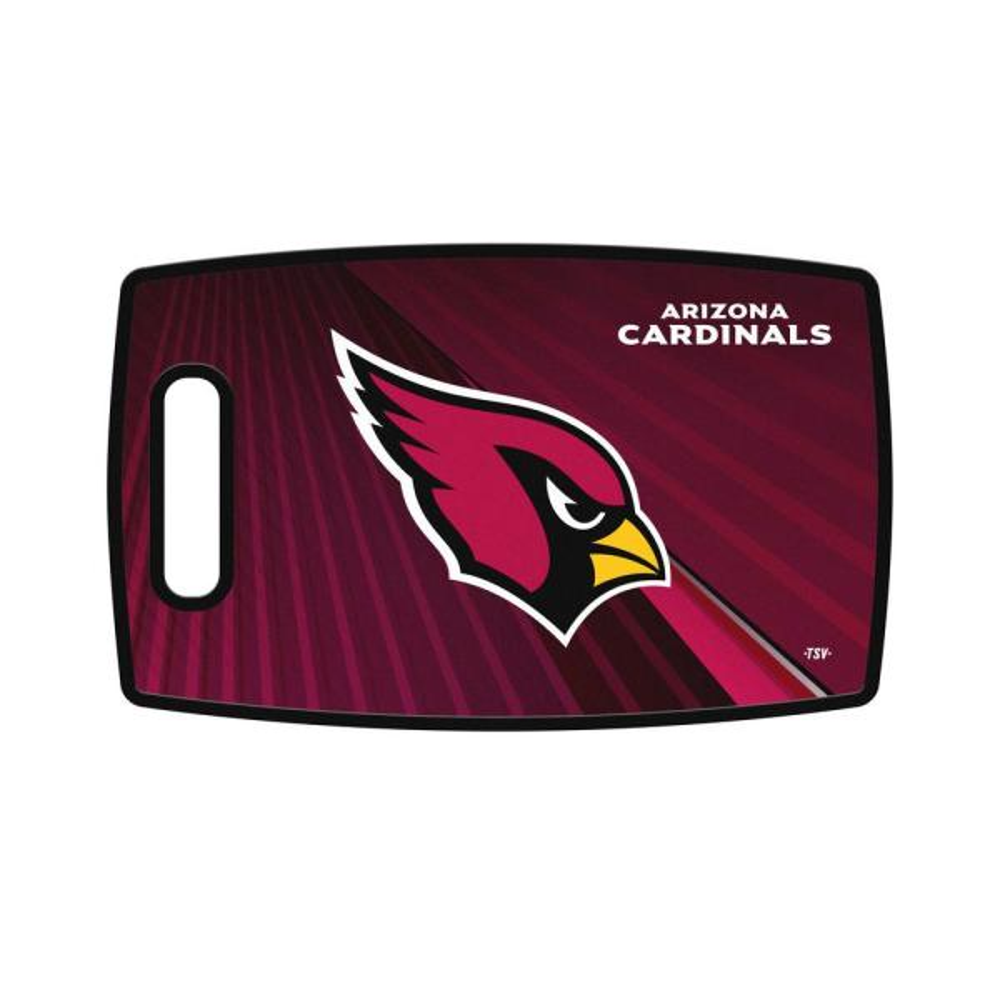 Arizona Cardinals Large Plastic Cutting Board