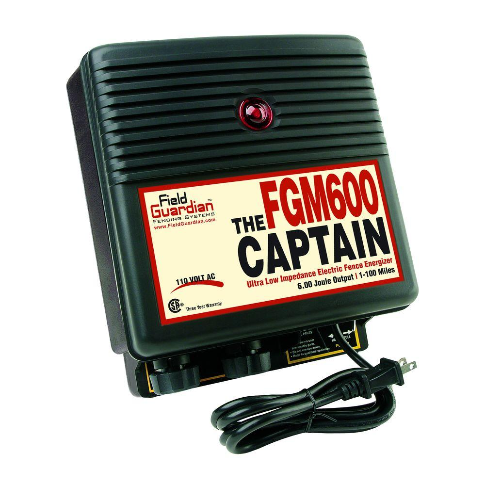 Field Guardian The Captain - 6 Joule Energizer-DISCONTINUED
