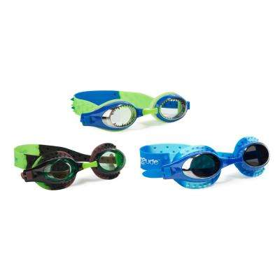 Aqua2ude Boys Sea Monster Swim Goggle (3-Pack)