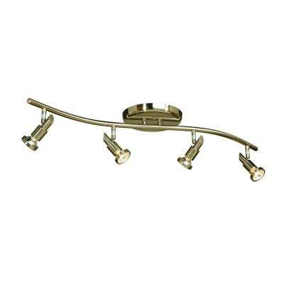 Buchwald 4-Light Brushed Nickel Track Lighting Kit