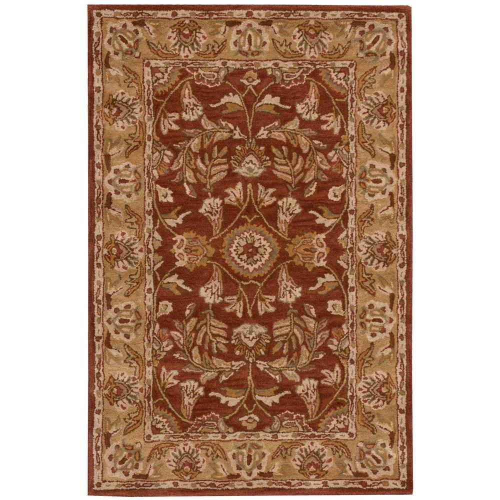 Nourison Overstock India House Rust 2 Ft. X 3 Ft. Area Rug
