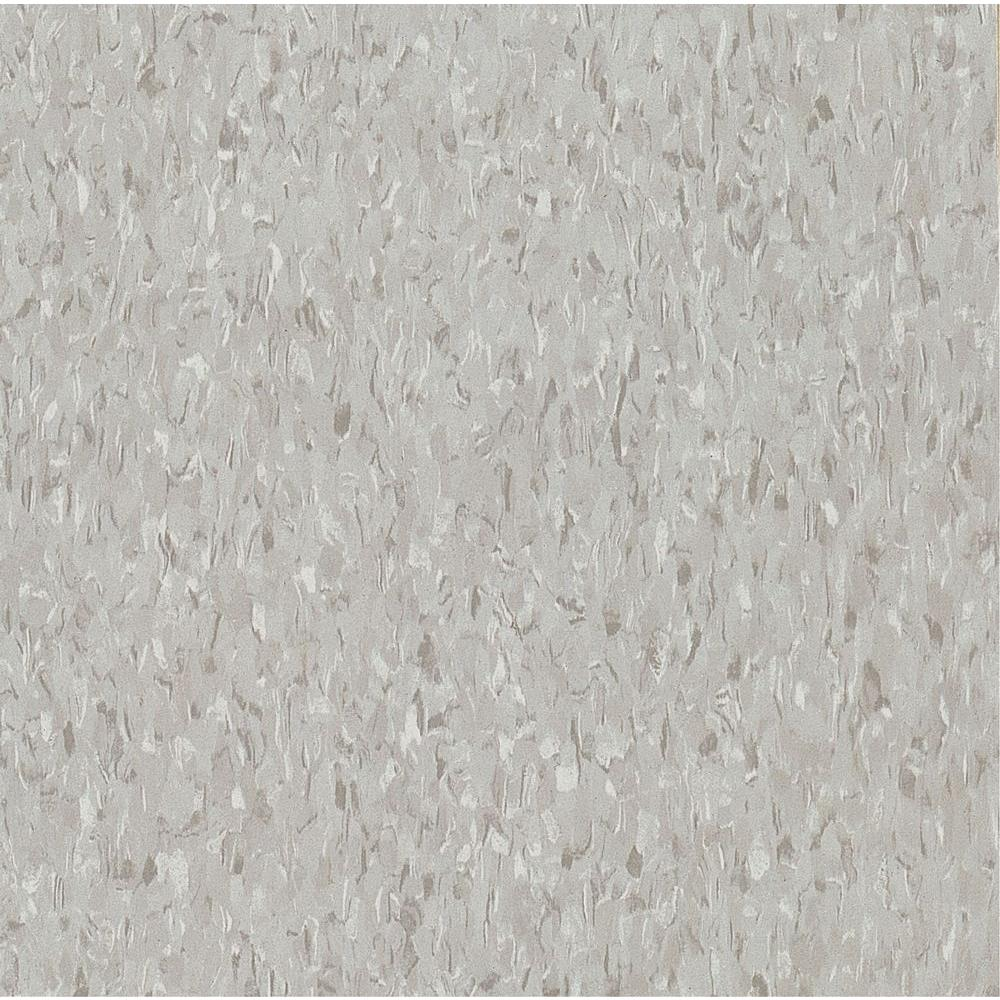 Armstrong Imperial Texture VCT 12 in. x 12 in. x 1/8 in. Sterling Standard Excelon Commercial Vinyl Tile