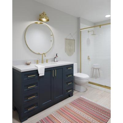 Taylor 54 in. W Vanity Cabinet Only in Midnight Blue