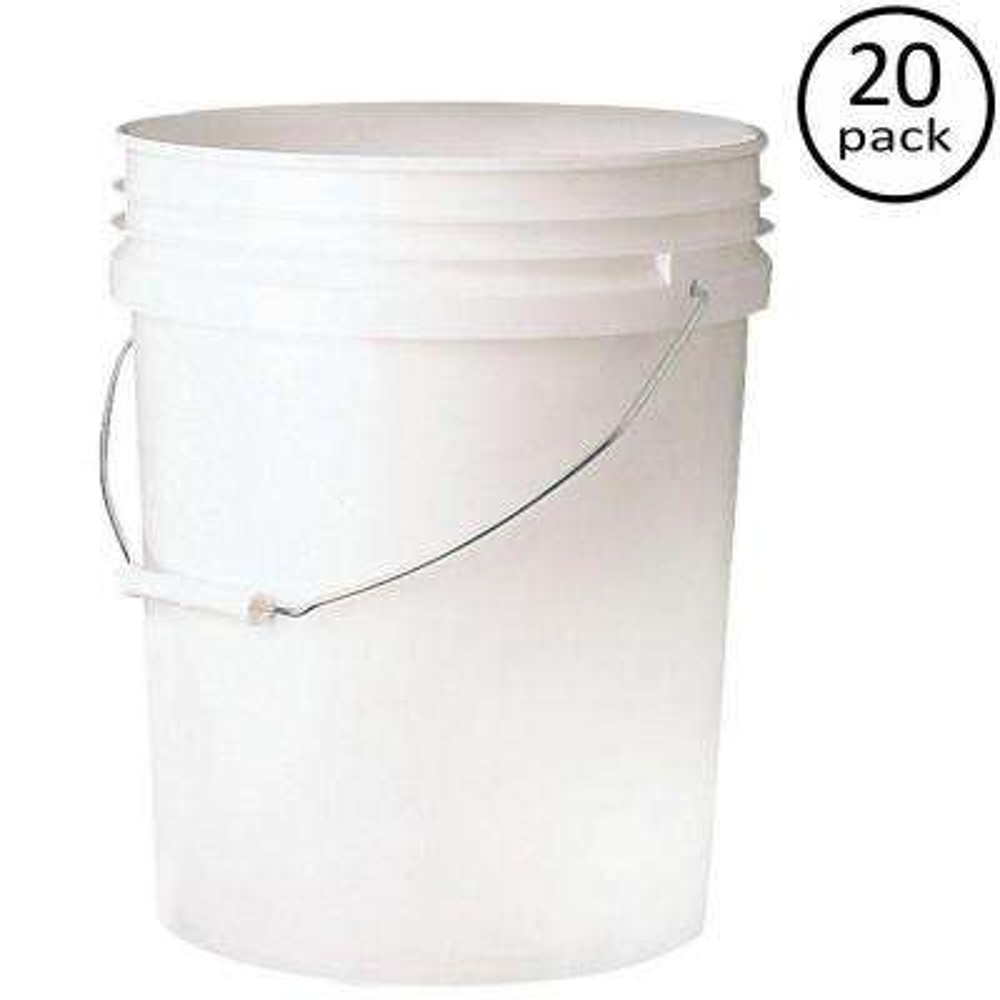 Premium 5-Gal. Food Storage Container (20-Pack)