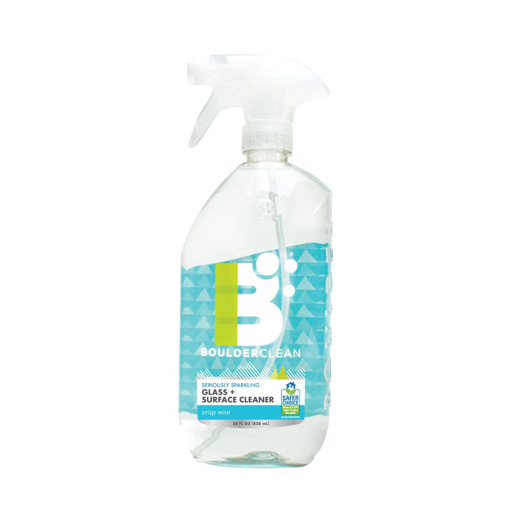 Mint Cleaning Services Home: 28 Oz. Crisp Mint Clean Pure Glass And Surface Cleaner