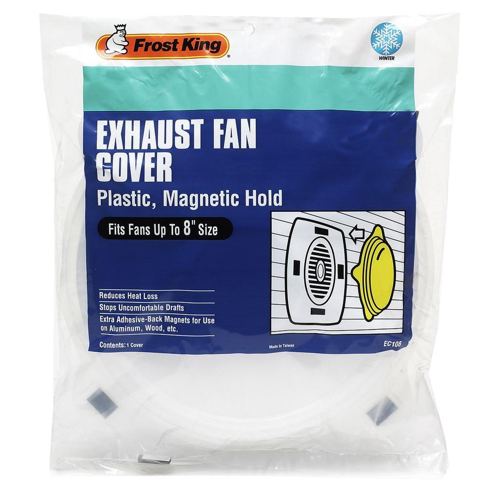 Frost King 8 In Exhaust Fan Cover Ec108 The Home Depot