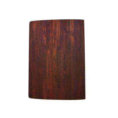 Cutting Board for Performa Medium 1-3/4 Bowl in Walnut