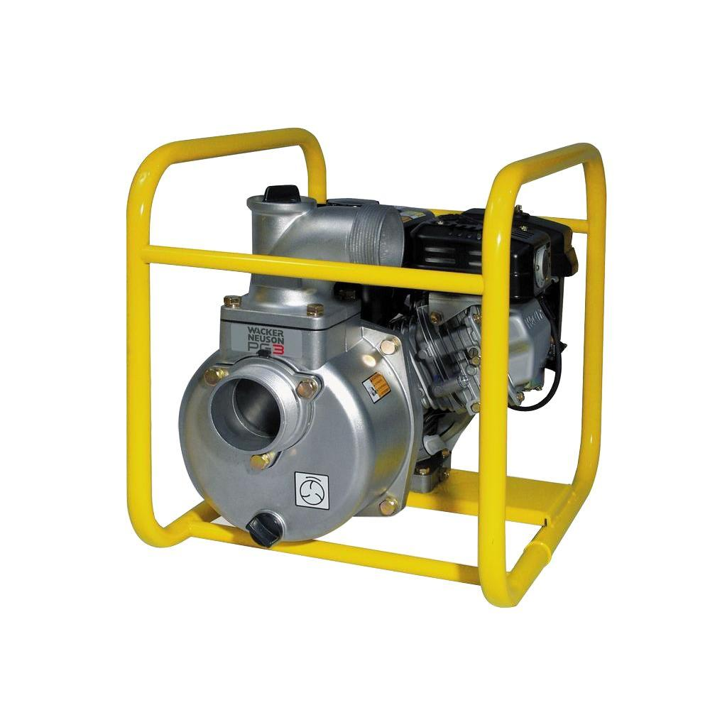 Wacker 4.8 HP 3 in. Centrifugal Pump with Honda Engine
