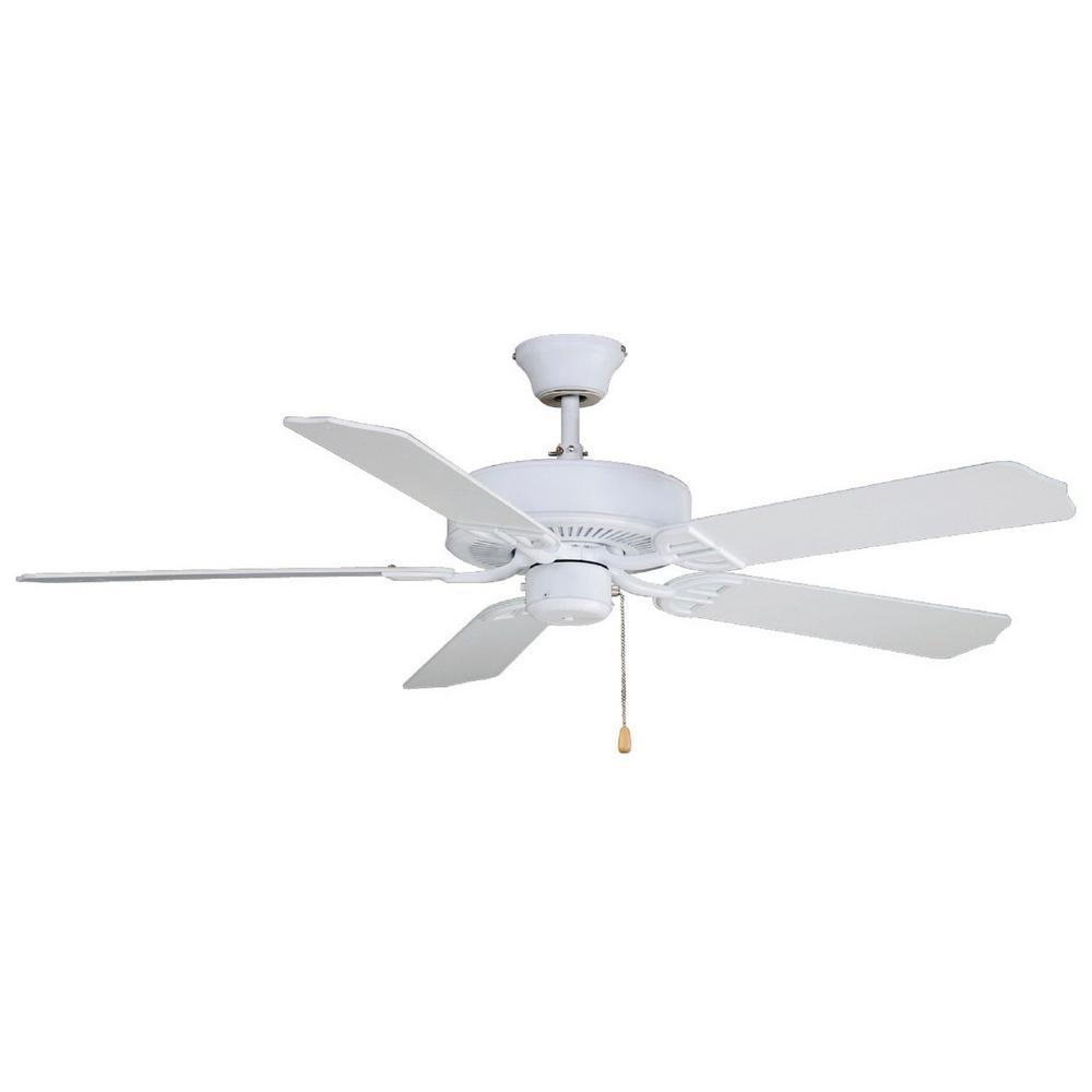 Aire Decor 52 in. Matte White Ceiling Fan