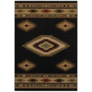 Home Decorators Collection Aztec Black 9 ft. 6 inch x 12 ft. 2 inch Area Rug by Home Decorators Collection