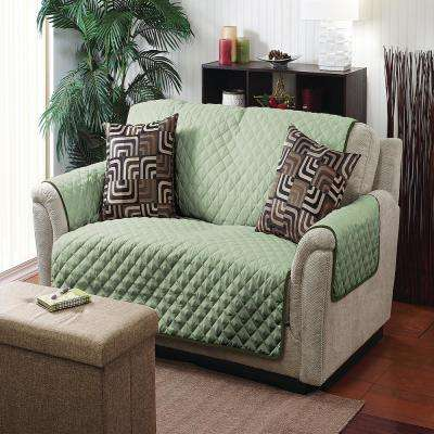 75 in. x 65 in. Double Side Chair Furniture Protector Cover