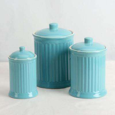 A Set of Airtight Canisters 24 oz., 44 oz., 88 oz. ( 3-Piece)