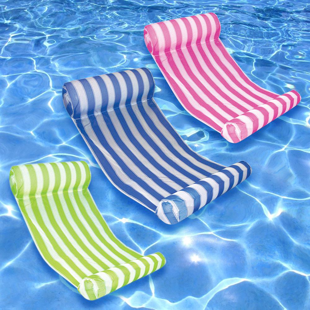 Key West Blue, Lime, and Pink Swimming Pool Hammock Combo (3-Pack)