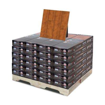 Hand Scraped Maple Amber 3/8 in. Thick x 4-3/4 in. Wide x 47-1/4 in. Length Hardwood Flooring (598.56 sq. ft. / pallet)