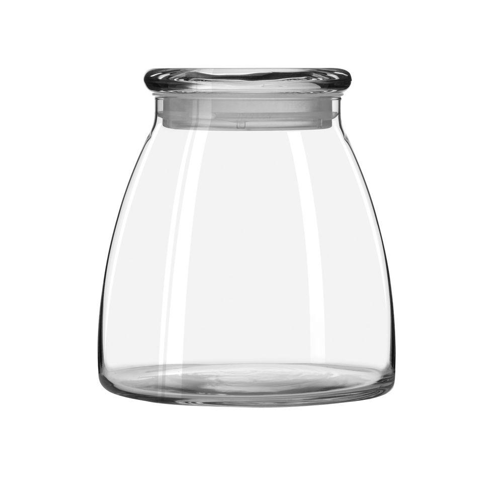 Libbey Vibe 62 oz. Storage Jar with Lid in Clear (Set of 4)