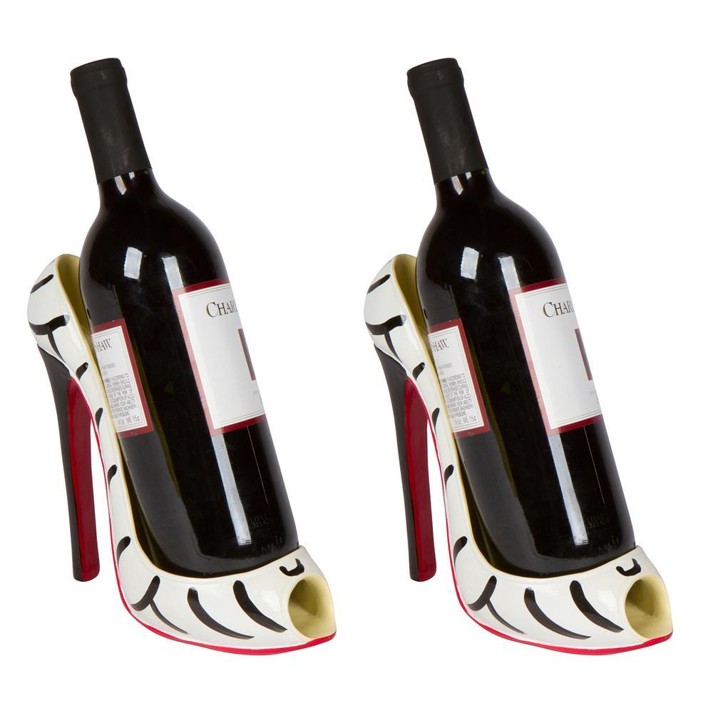 H High Heel Single Wine Bottle Holder