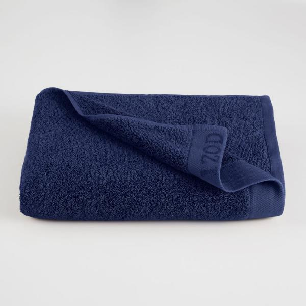 IZOD Classic Egyptian Cotton Bath Towel in Dress Blue 079465022162