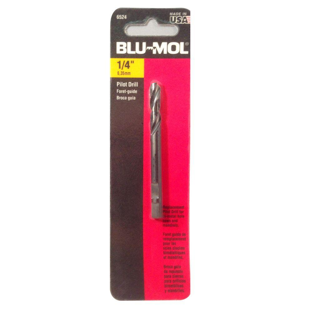 3-1/4 in. x 1/4 in. Pilot Drill Hole Saw Accessory for