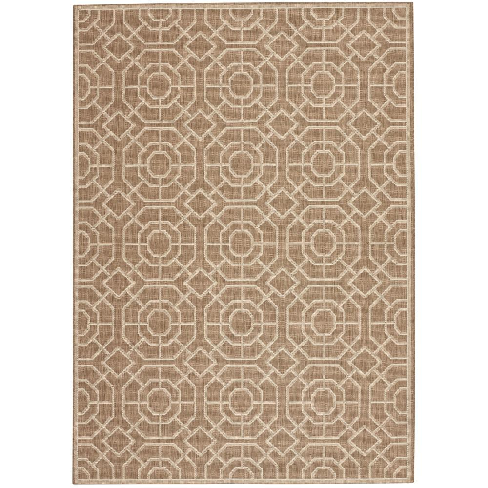 Laguna Taupe/Champagne (Brown/Beige) 3 ft. 9 in. x 5 ft. 5 in. Area Rug
