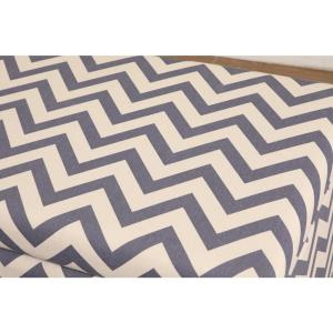 Astounding Multi Colored Chevron Patterned Deep Storage Ottoman 91019 Caraccident5 Cool Chair Designs And Ideas Caraccident5Info