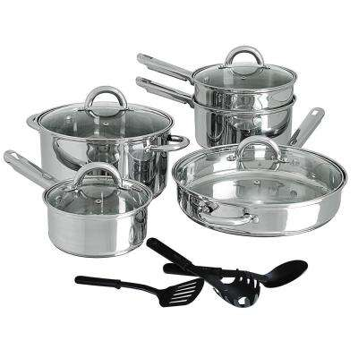 Cusine Select Abruzzo 12-Piece Stainless Steel Cookware Set