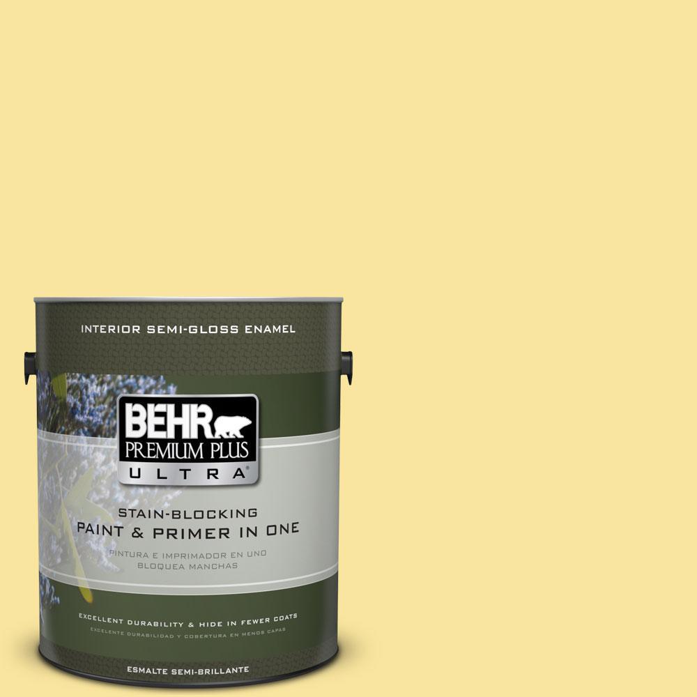 BEHR Premium Plus Ultra 1-gal. #P310-4 Storm Lightning Semi-Gloss Enamel Interior Paint