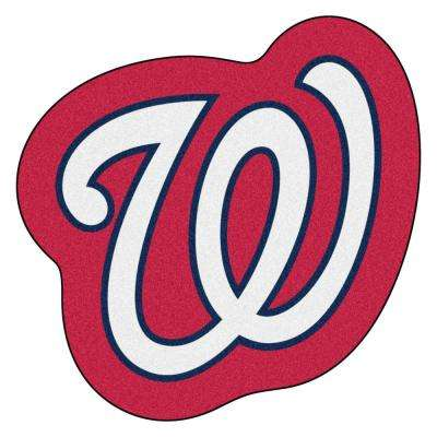 MLB - Washington Nationals 30 in. x 30 in. Indoor Area Rug Mascot Mat
