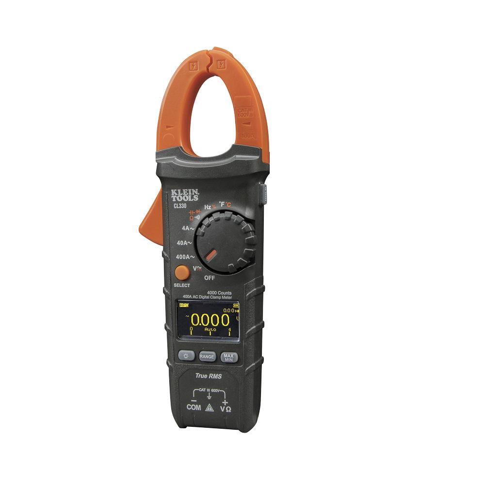 Auto Meter Clamp : Klein tools a ac auto ranging digital clamp meter cl