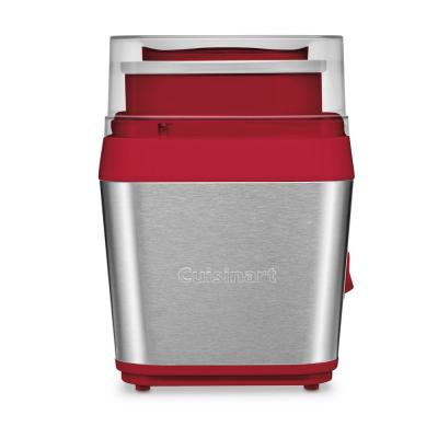 1.5 Qt. Brushed Stainless Steel Ice Cream Maker