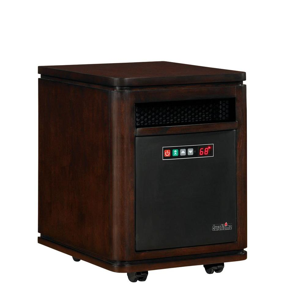 Duraflame Dartmouth 1500-Watt Electric Infrared Quartz Heater - Roasted Walnut