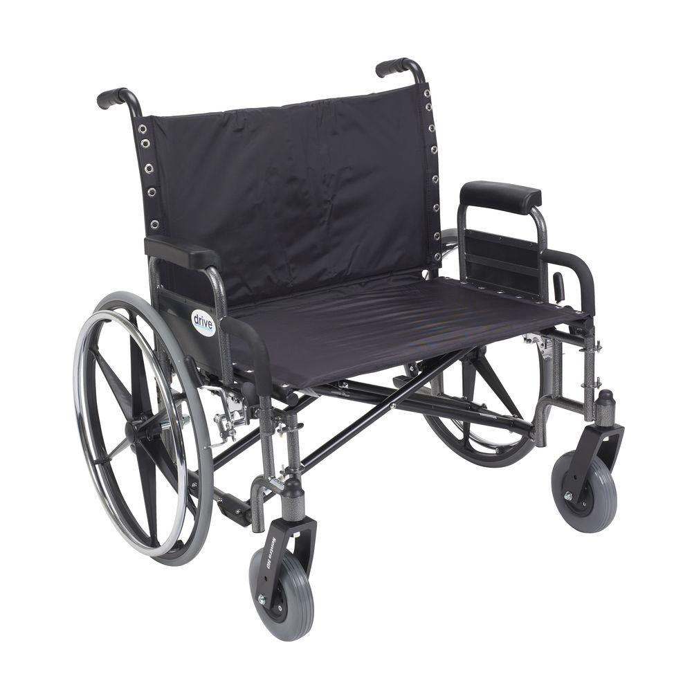 Drive Sentra Heavy Duty Wheelchair with Detachable Desk Arms