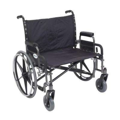 Sentra Heavy Duty Wheelchair with Detachable Desk Arms