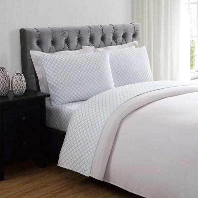 Everyday Printed Lattice Full Sheet Set