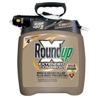 1.33 gal. Ready-to-Use Pump 'N Go Extended Control Weed and Grass Killer Plus Weed Preventer (Case of 4)