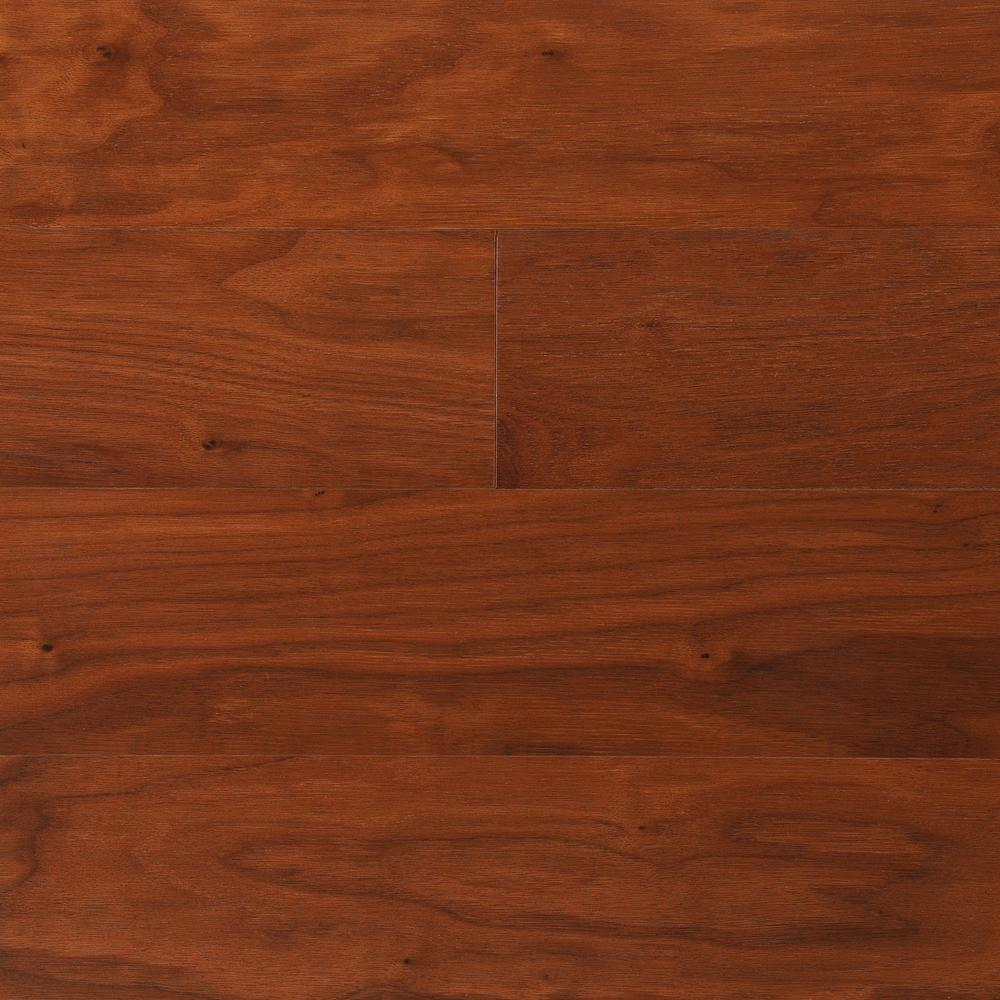 Bruce Proshield Autumn Glen Walnut 3 8 In Thick X 5 In Wide X Varying Length Engineered Hardwood Flooring 22 Sq Ft