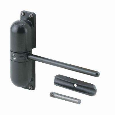 Safety Spring Door Closer, Black