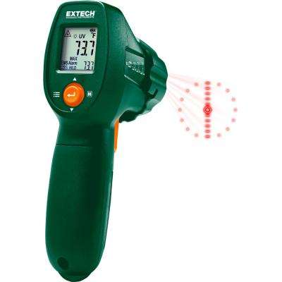 IR Thermometer with UV Leak Detector