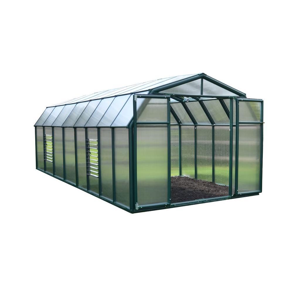 Rion Hobby Gardener 8 ft. x 16 ft. Greenhouse