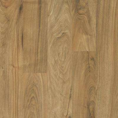 Outlast+ Wild Natural Walnut Laminate Flooring - 5 in. x 7 in. Take Home Sample