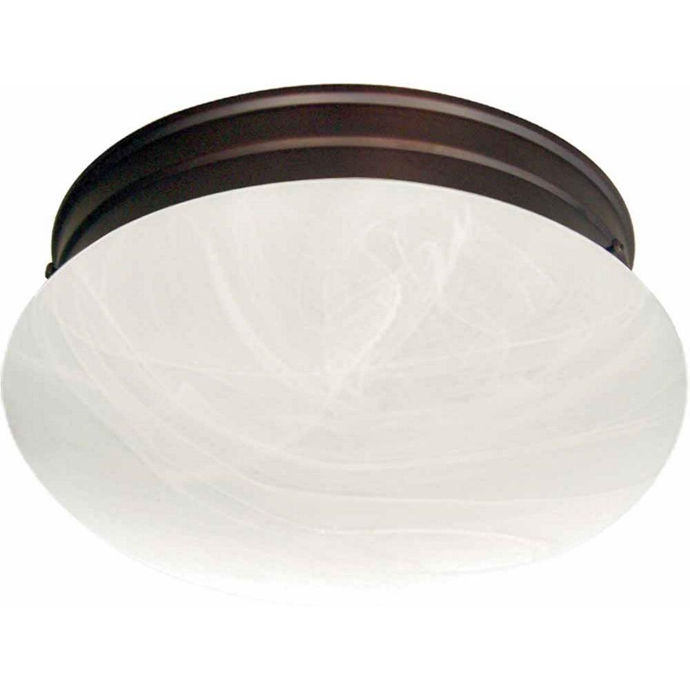 Light Fixtures Trinidad: Volume Lighting Trinidad 2-Light Antique Bronze Flush