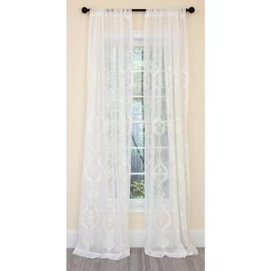 Single Rod Pocket Curtain Panel