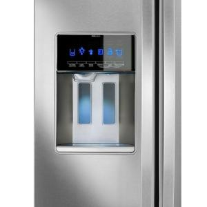 Whirlpool 36 in. W 19.9 cu. ft. Side by Side Refrigerator in ...