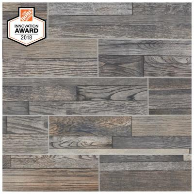 Pewter Wood 6 in. x 24 in. Glazed Porcelain Floor and Wall Tile (392.85 sq. ft./Pallet)