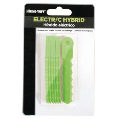 Electric Hybrid Nylon Replacement Trimmer Blades