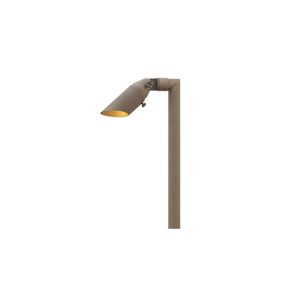35-Watt Matte Bronze Hardy Island Directional Path Light