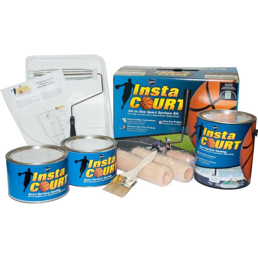 Insta Court All-in-One Sport Surface 2 Gal. 6960 Matte Exterior Paint