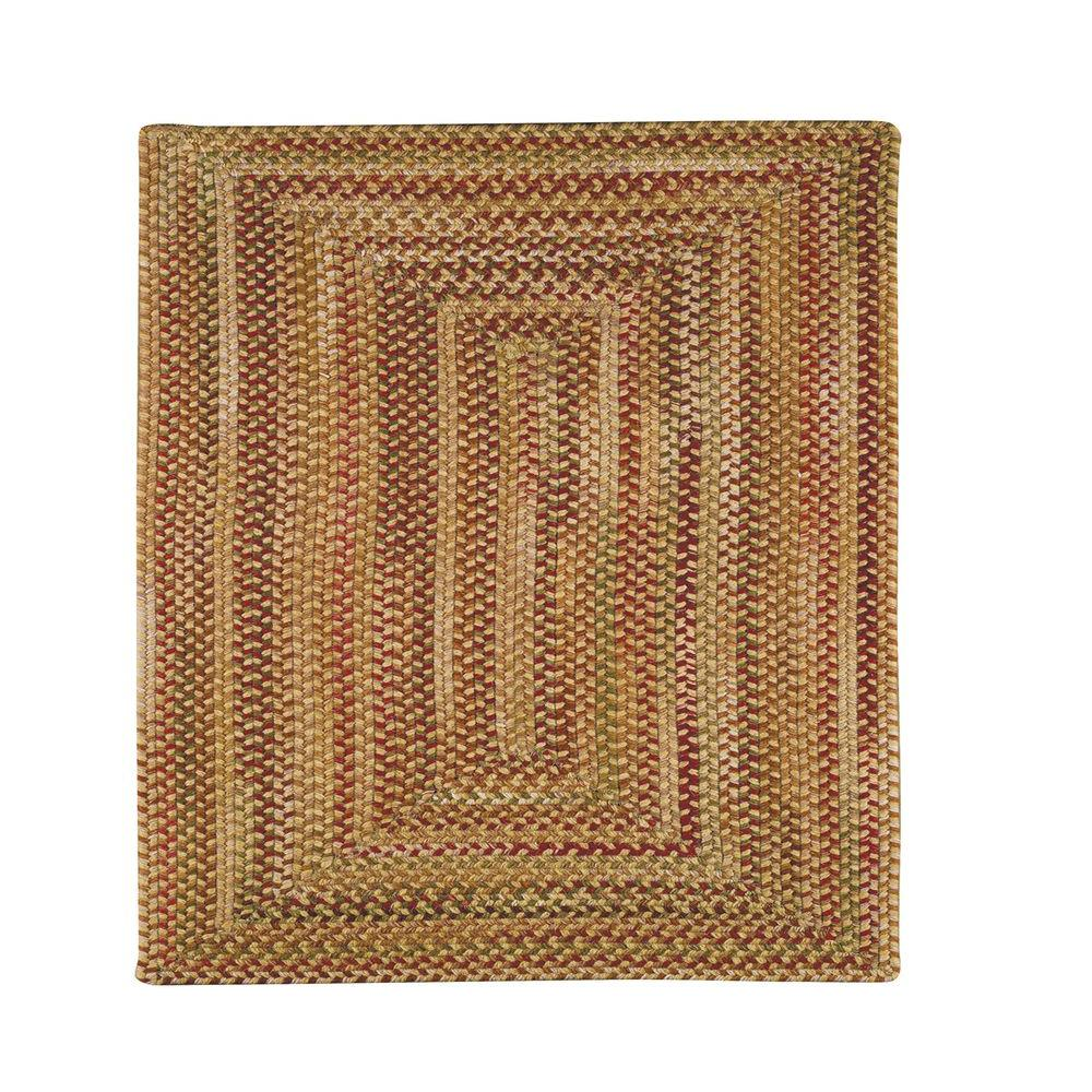 Capel Applause Concentric Wheatfield 3 ft. Concentric Square Area Rug