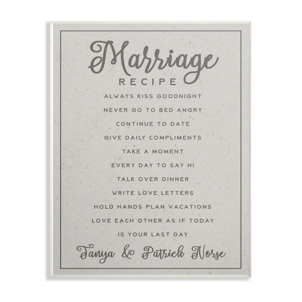 It is a photo of Nifty Recipe for a Happy Marriage Printable
